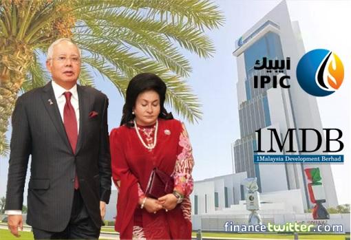 1MDB and IPIC Debt - Najib Razak with Rosmah Mansor