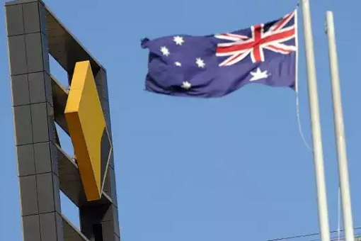 Commonwealth Bank of Australia - Logo and Australia Flag