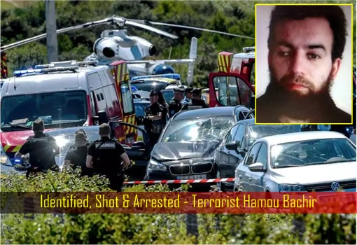 Identified, Shot and Arrested - Terrorist Hamou Bachir