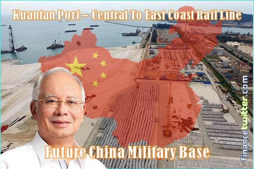 Kuantan Port - Central to ECRL - Future China Military Base