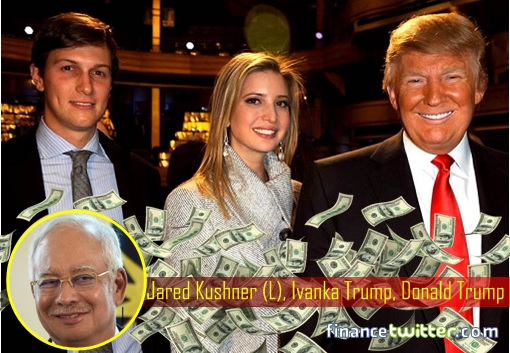 Najib Razak Corruption - Jared Kushner, Ivanka Trump and Donald Trump