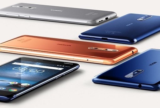Nokia 8 - Colour Options - 2