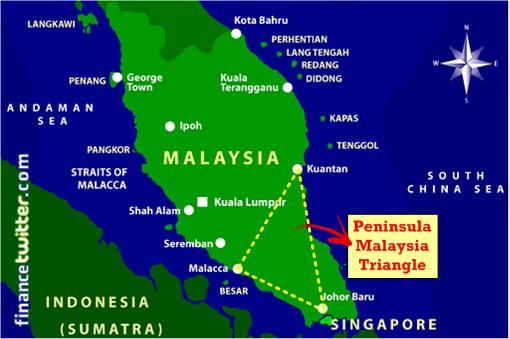 Peninsula Malaysia Triangle - China Militarization