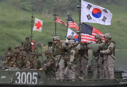 South Korea - United States - Military Exercise