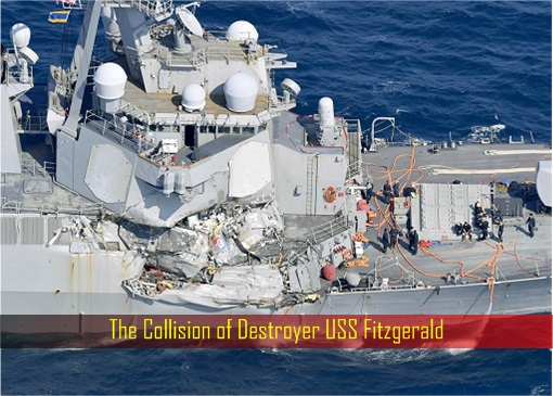 The Collision of Destroyer USS Fitzgerald