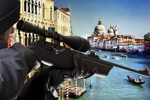 Venice - Shoot Anyone Shout Allahu Akhbar