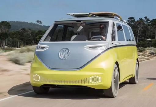 Volkswagen VW Electric Microbus 2022 - Front View