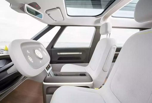 Volkswagen VW Electric Microbus 2022 - Interior Side View