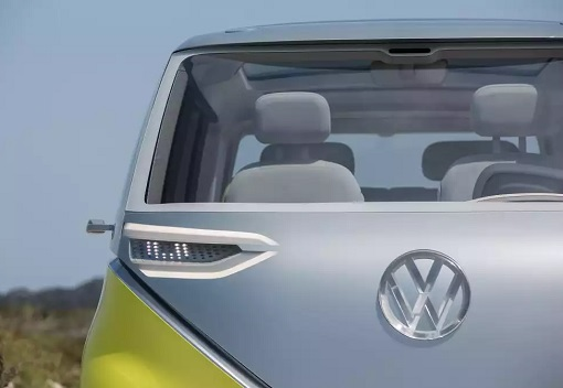 Volkswagen VW Electric Microbus 2022 - Rear View Zoom