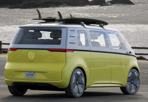 Volkswagen VW Electric Microbus 2022 - Rear View