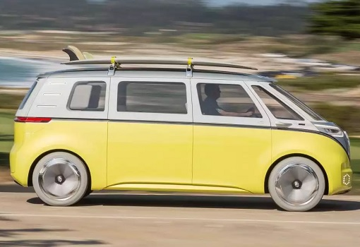 Volkswagen VW Electric Microbus 2022 - Side View