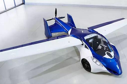 Flying Car - Aeromobil - Prototype 3 - Wing Fold