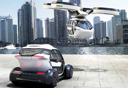 Flying Car - Airbus PopUp