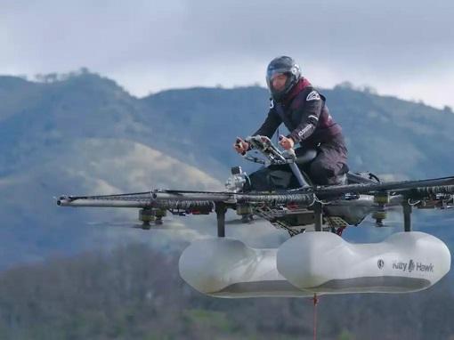 Flying Car - Kitty Hawk Flyer - Larry Page