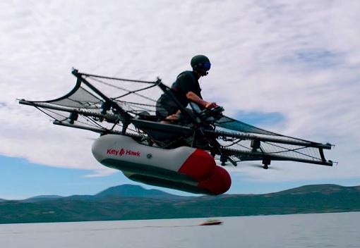 Flying Car - Kitty Hawk Flyer
