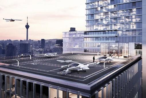 Flying Car - Lilium Aviation - Landing Pad