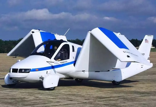 Flying Car - Terrafugia Transition - Foldable Wings