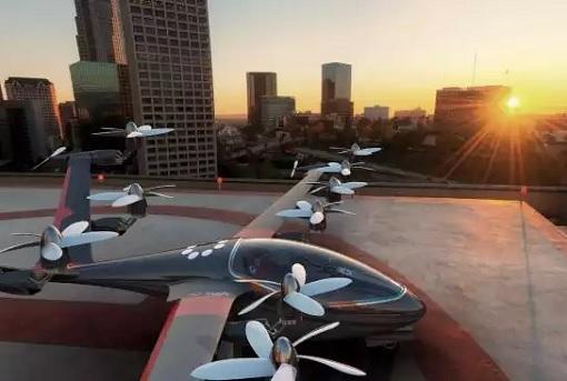 Flying Car - Uber Elevate - Concept