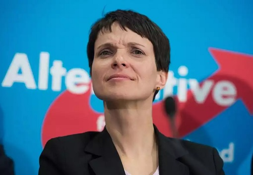 Frauke Petry - leader of Alternative for Germany - AfD