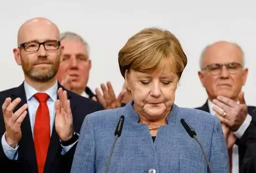Germany 2017 Election - Angela Merkel Disappointed - AfD Surges