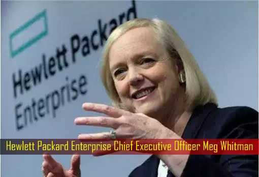 Hewlett Packard Enterprise Chief Executive Officer Meg Whitman
