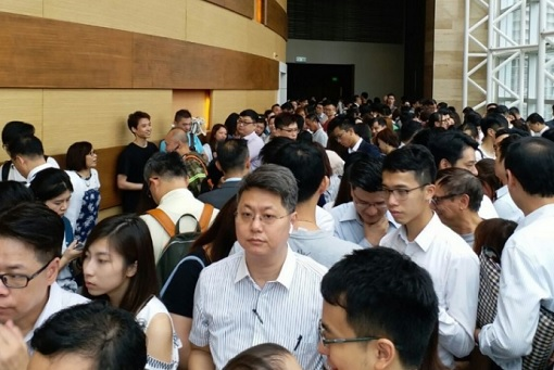 Hong Kong ChinaChem Parc City - Long Queue 2