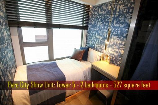 Hong Kong ChinaChem Parc City - Show Unit, 527 square feet - Bedroom 2