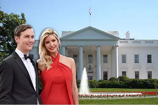 Jared Kushner with Ivanka Trump - White House