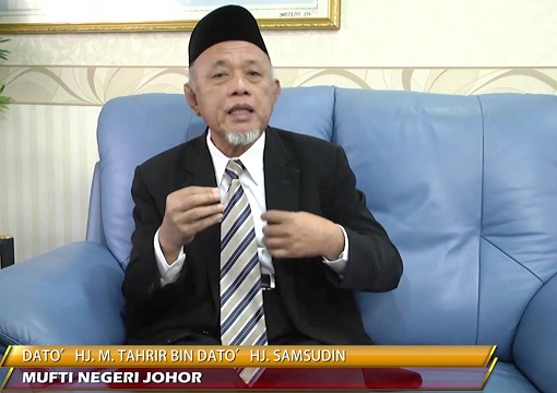Johor Mufti Mohd Tahrir Samsudin