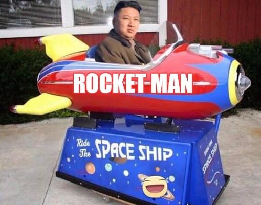 Kim Jong-un - Rocket Man