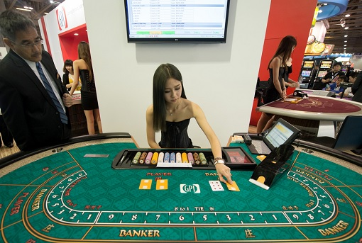 Macau Casino - Gambling Table
