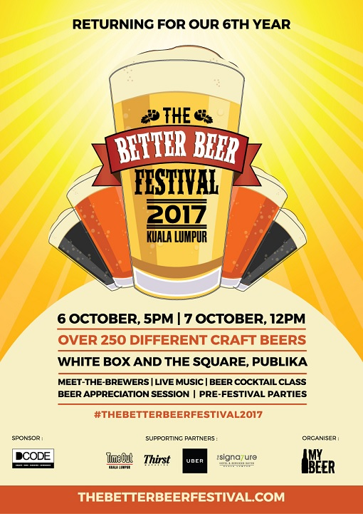 Malaysia Kuala Lumpur 2017 The Better Beer Festival