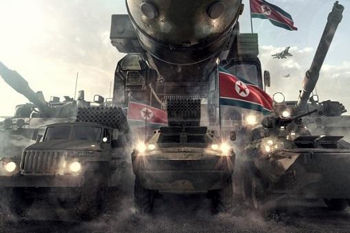 North Korean Military Hardware Attacking South Korea