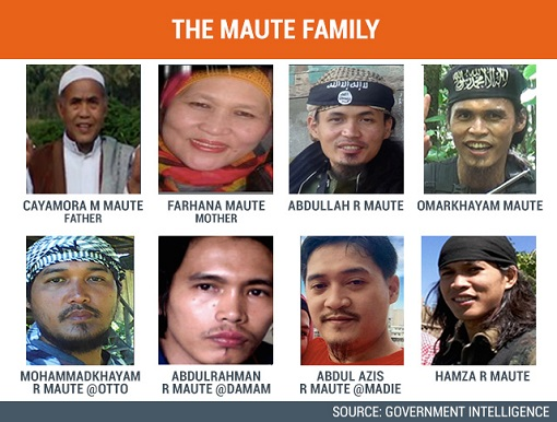 Philippine Terrorism - The Maute Family