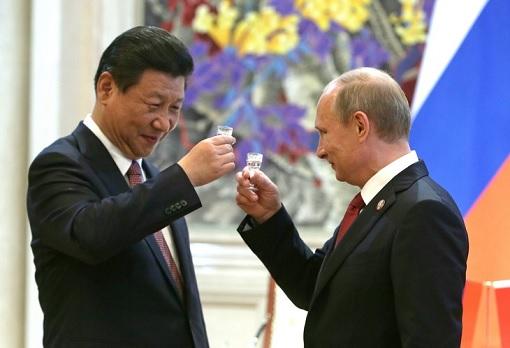 Toast - President Xi Jinping and President Vladimir Putin