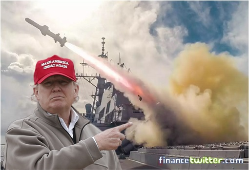 Trump's First War - Missile Strike on Iran