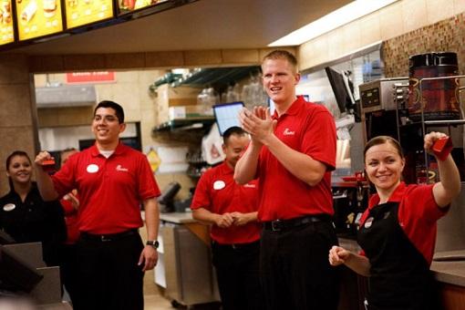 Chick-fil-A Restaurant - Motivated Staff