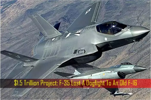 F-35 Lost A Dogfight To An Old F-16