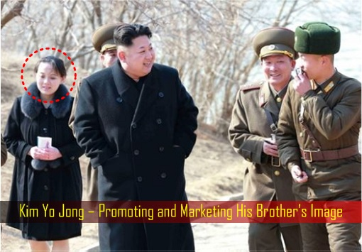 Kim Yo Jong – Promoting and Marketing His Brother's Image