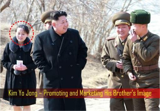Kim Yo Jong – Promoting and Marketing His Brother's Image