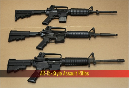 Las Vegas Shooting - AR-15-Style Assault Rifles