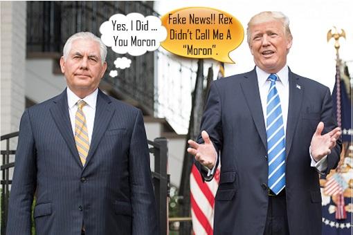 Rex Tillerson Called Donald Trump A Moron