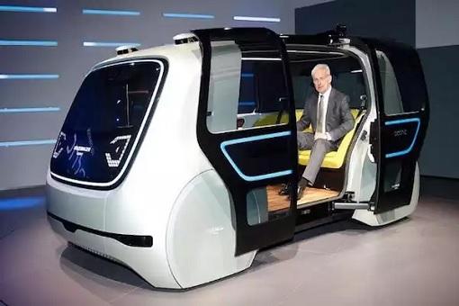Robo Taxi - Volkswagen