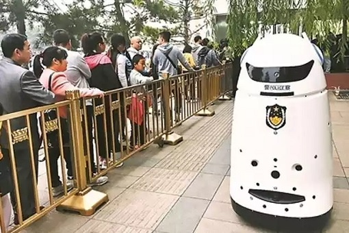 Robocop Android in China - Robot Police