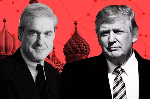 Russian Investigation - Special Counsel Robert Mueller and President Donald Trump