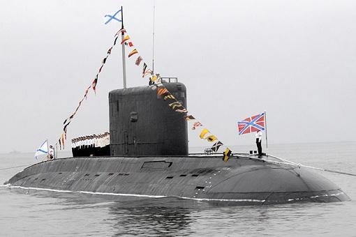 Russian Kilo-Class Attack Submarine