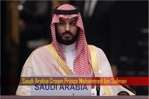 Saudi Arabia Crown Prince Mohammed bin Salman