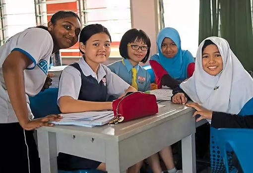 Student of SJKC Sam Yoke Sungei Besi - Kuala Lumpur