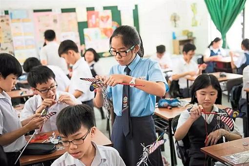 Students of SJKC Foon Yew 2 - Johor Baru