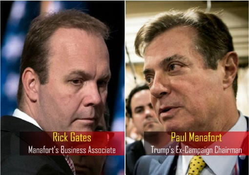 Trump Campaign Aides Charged - Paul Manafort and Rick Gates